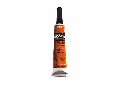 1 x Liquid Gold Glue 1 oz Tube Hair Extension Fusion Bonding Glue / Weave  Weft