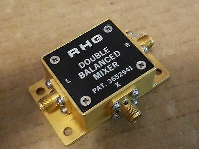 Rhg Dm1-12 Double Balanced Mixer Rf Microwave 1-12ghz Lo If Smaf 13-142-1