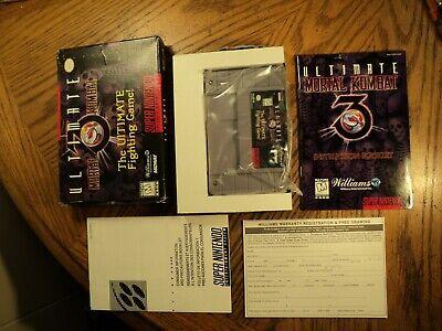 Ultimate Mortal Kombat 3(Super Nintendo, 1996) Complete, usado comprar usado  Enviando para Brazil