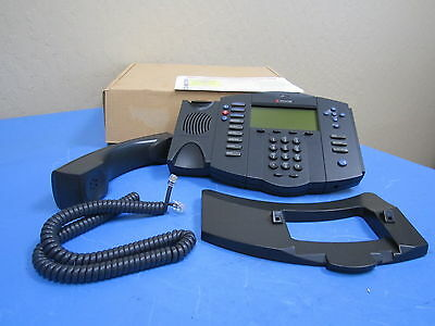 New Polycom Soundpoint Ip 501 Voip Sip Ip Phone 2201-11501-001