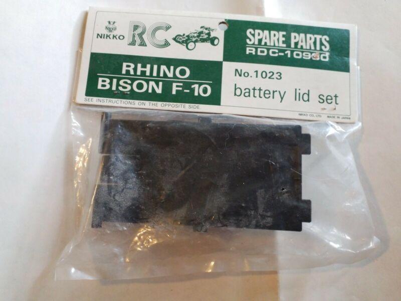 Nikko RC No. 1023 Rhino Bison F-10 Battery Lid Set Vintage NOS