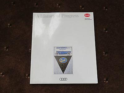 Audi - A History of Progress 1873 - 1991