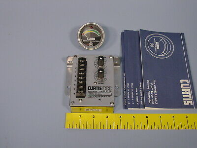 Curtis 9333d24 24v Electric Fork Lift Truck Fuel Gauge And Battery Controller