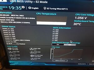asus x99 system for sale