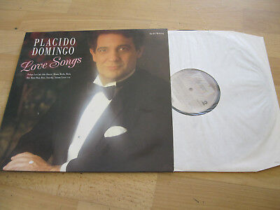 LP Placido Domingo Love Songs Vinyl Schallplatte CBS 44701