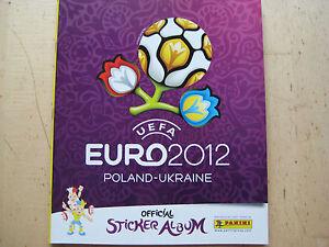 EM 2012 Album und alle 540 Sticker NEU Internationale Version - Dornbirn, Österreich - EM 2012 Album und alle 540 Sticker NEU Internationale Version - Dornbirn, Österreich
