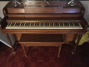 Piano d'appartement Wurlitzer Spinnet 1929 - UNE AUBAINE !!!