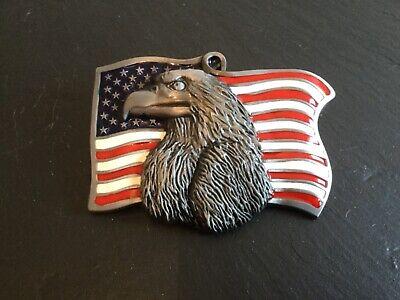 USA FLAG & EAGLE Design New BELT BUCKLE Metal American US Flag Old Glory  - Old Glory American Flag