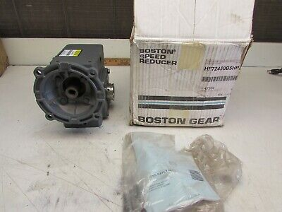 Boston Gear Hf72450b5hp23 Speed Reducer 301 0.87hp 1177in.lbs New In Box Mo