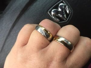 Matching Couples Ring Set-BOTH FOR $90