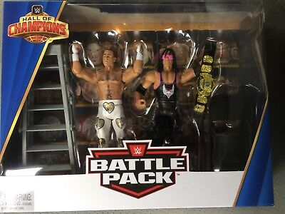Wwe Mattel Bret Hart Shawn Michaels Hall Of Champions Exclusive Basic Figures