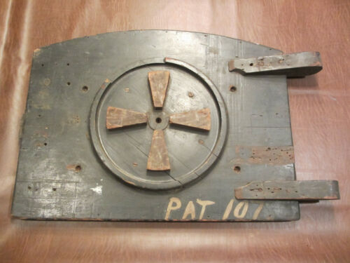 VINTAGE OLD INDUSTRIAL ART WOOD FOUNDRY MOLD PATTERN STEAMPUNK FACTORY DECOR #2