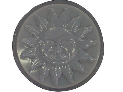 Huge Round Sun  Stepping Stone Plaster or Concrete Mold  1140 -