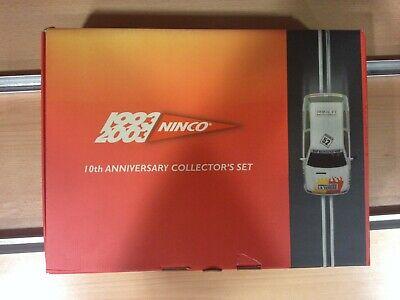 Ninco 10th anniversary collector^s set (1993-2003),Ref.50325