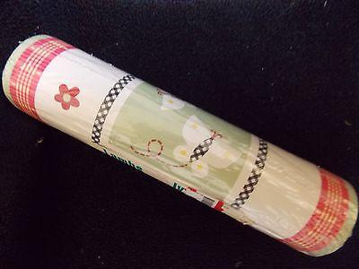 NEW LAMBS & IVY SECRET GARDEN BUTTERFLIES RED ONE ROLL WALLPAPER BORDER One Lamb Roll