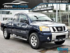 2012 Nissan Titan SV|LOW KM'S|AWD|EXTENDED CAB|
