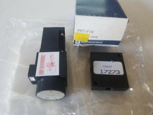 Telemecanique Parker Pneumatic Time Delay Logic Relay Module & Subbase, PRT-F10
