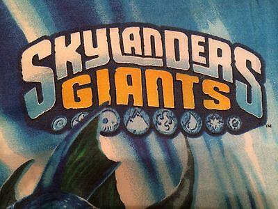 Skylanders Pillowcase Giants Spyro Wham Shell Eruptor Flameslinger Twin Reverse  for sale  Zephyrhills