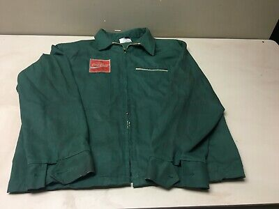 VINTAGE COCA COLA COKE DRIVER'S JACKET MADE IN USA SIZE 46 L