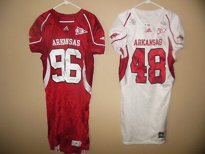 Arkansas Razorback Game (ARKANSAS RAZORBACKS GAME USED  FOOTBALL)
