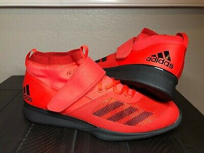 sports shoes bc5cf 4ed41 Men s Adidas Crazy Power RK Weightlifting Powerlifting Shoes Red BB6361  Size 13