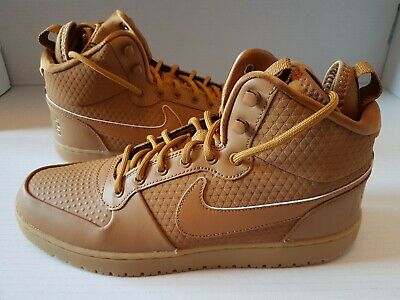 New Nike Court Borough Mid Winter Mens Trainers/Boots  - Size UK 8 - RRP £80