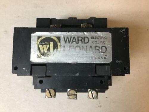 Ward Leonard 5DP7-7140-11 Contactor with 120 Volt Coil
