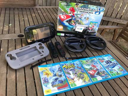 Wii U Mario Cart Bundle + Extras  - Pick up in Sydney Available