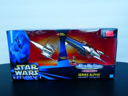 Star Wars Episode 1 Action Fleet Series Alpha Concept Vehicles  - Royal Starship