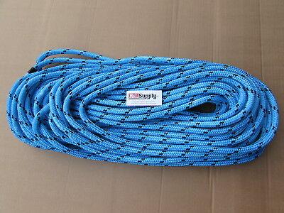200ft X 12 Notch Kraken Monster Double Braid Rigging Rope 11100lb Arborist