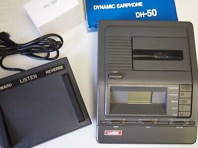 Lanier Vw210 Microcassette Transcriber With Foot Pedal Headset Warranty