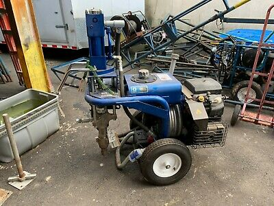 Graco Gh 733 Roof Rig Gas Hydraulic Airless Sprayer Roofing Painting