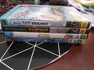 8 kids dvds Medowie Port Stephens Area Preview
