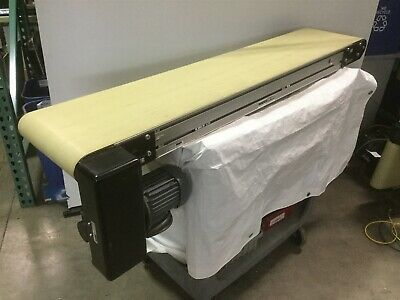 Dorner 3200 Series Powered Flat Belt Conveyor 12 X 60 W Keb 230460vac 3