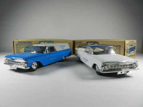 ERTL COLLECTIBLES 1959 El Camino Lot DIECAST CAR BANK ~ Tip-Up Town USA