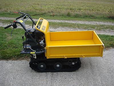 Lumag Mini Dumper MD300 Leistung 4,8 kW Benzinmotor Zul. 300kg mit Gaszylinder