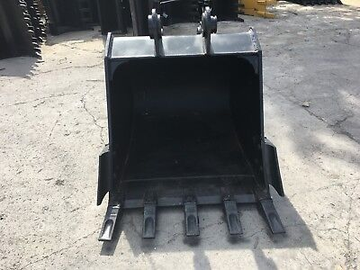 New 42 Heavy Duty Excavator Bucket For A Case 9010 W Coupler Pins