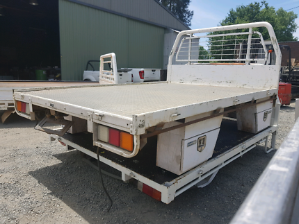 SINGLE CAB STEEL TRAY Healesville Yarra Ranges Preview