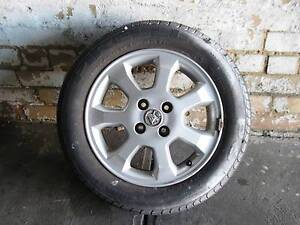 1 only  Holden Astra TS Four Stud Mag Wheel and Tyre suit 98 - 02 Coburg North Moreland Area Preview