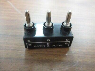 Tektronix 013-0128-00 Curve Tracer Test Adapter