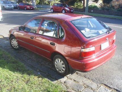 1996 Toyota Corolla Hatchback Elwood Port Phillip Preview