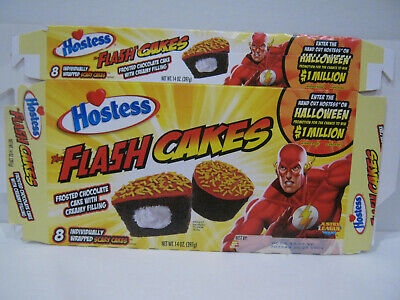 Cheap Cake Boxes (The FLASH CAKES  2010 HOSTESS CAKES - FLAT BOX...THE FLASH,)