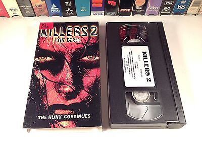 Killers 2: The Beast Horror VHS 2002 Kim Little D.C. Douglas Nick Stellate