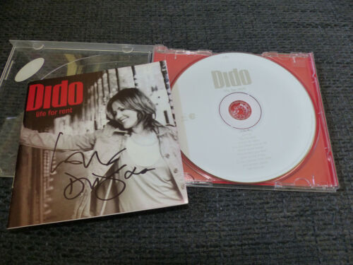 """DIDO signed signiert Autogramm auf """"LIFE FOR RENT"""" CD InPerson LOOK"""