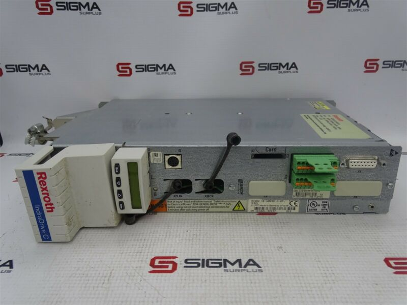 Rexroth HCS02.1E-W0012-A-03-NNNN Indradrive C, 3x200-500VAC, 6A