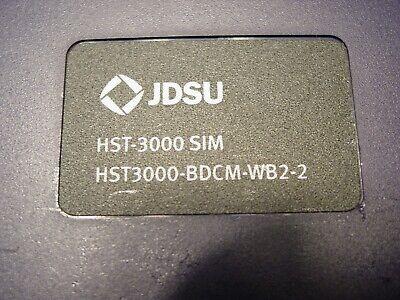 Wiavi Jdsu Hst-3000 Sim Bdcm Wb2-2 Unused Lk