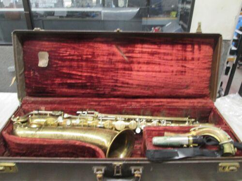 Rare Martin Centennial Tenor Saxophone WITH . BOX VINTAGE COLLECTRABLE
