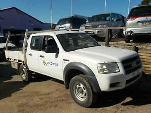 WRECKING 2008 FORD PJ RANGER 4X4 DUAL CAB 3.0L DIESEL MANUAL North St Marys Penrith Area Preview