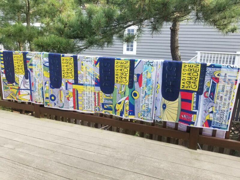 Phish NYE 2019/2020 Ticket Beach Towel Set