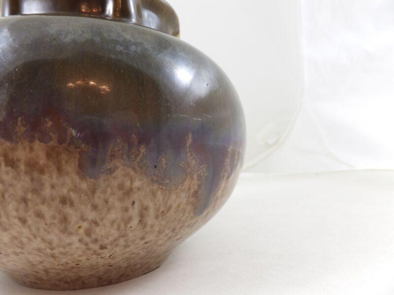 Fulper 1910-1914 Vase #531 Green Flambé